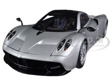 PAGANI HUAYRA SILVER 1/18 DIECAST MODEL CAR BY AUTOART 78266