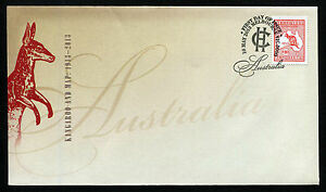 2013-10-Kangaroo-and-Map-Centenary-FDC-First-Day-Cover-Stamps-Australia