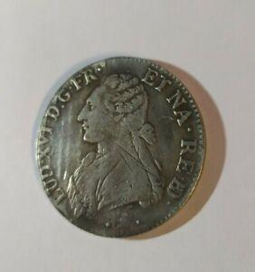 Louis XVI 1776 Desc 1 Ecu