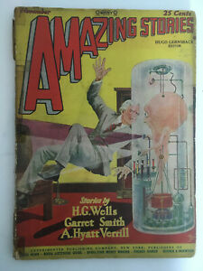 Amazing-Stories-Magazine-November-1927-Vol-2-8-Vintage-Pulp-Science-Fiction