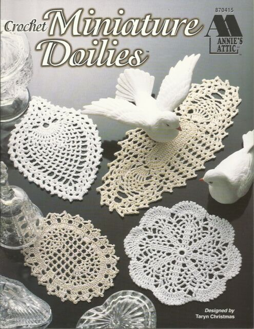 Miniature Doilies Annies Attic Crochet Pattern Booklet 870415 Ebay