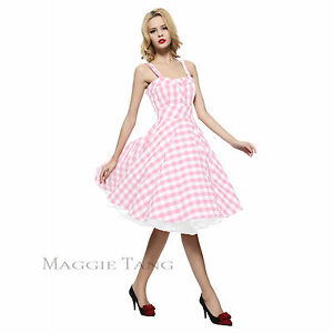 457e27cdb147 Maggie Tang 50s VTG Hepburn Rockabilly Polka Dots Pinup Party Swing ...