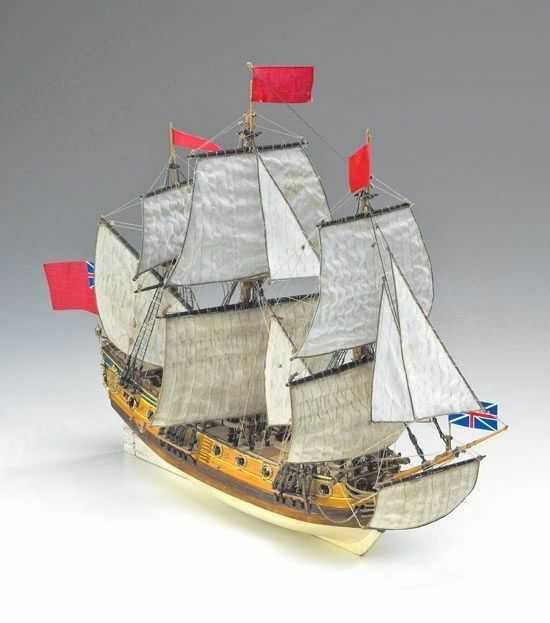Corel HMS Peregrine, English 6th Rate 1 96 (SM060) modellllerler båt Kit