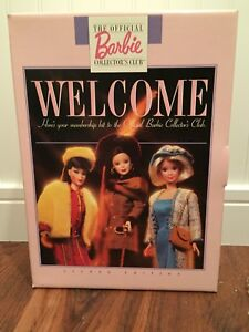1997-BARBIE-Doll-Official-Collector-Club-Welcome-Member-Kit-2nd-Edition