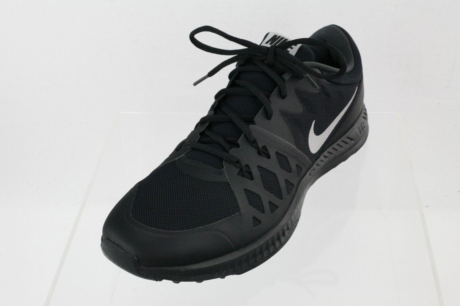 Los hombres de zapatillas Nike 852456-002 Negro Lace Up running zapatillas de zapatos cómodos 53a289