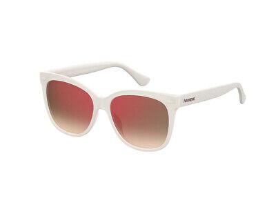 Di Larghe Vedute Occhiali Da Sole Havaianas Autentici Sahy Bianco Rosso Specchiato Szj/uz