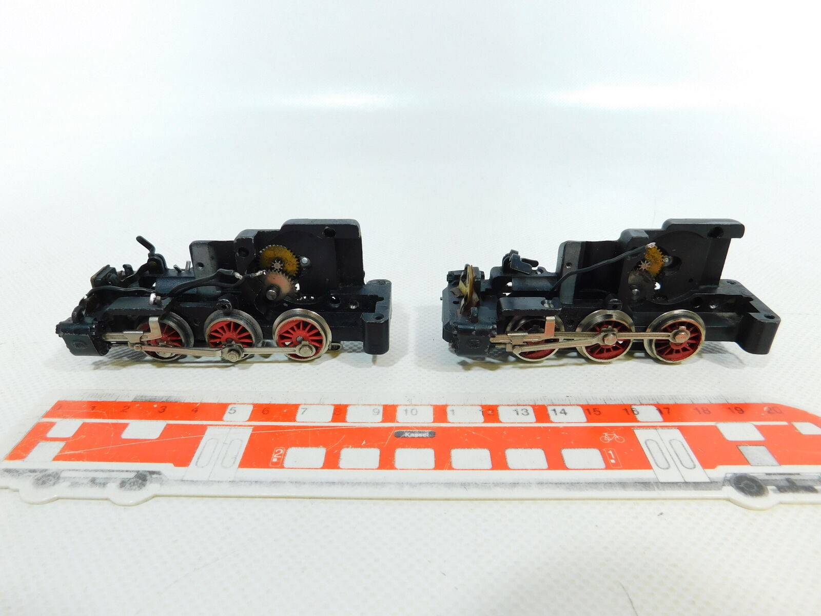 BV715-0,5 x Märklin H0 00   Ac Chassis (without Motor   Switch) for Tm 800,VG