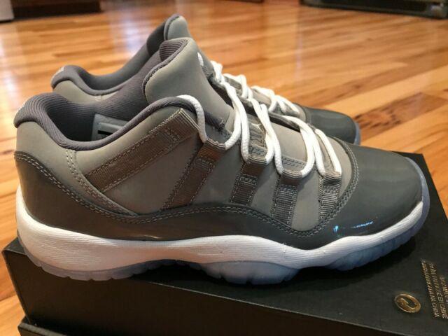 1e75b2a8ba91 Nike Air Jordan 11 Retro Low BG Medium Grey Gunsmoke 528896-003 Size 4Y B