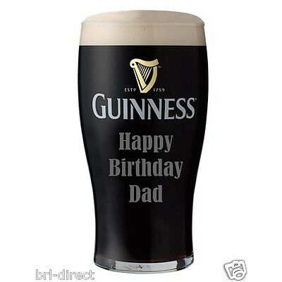 Guinness Pint Cake Cupcake Topper Toppers Pre-Cut Icing (not Rice ) Personalised