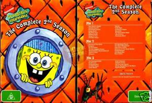 SPONGEBOB-SQUAREPANTS-Complete-2nd-Season-2-3-DVD-NEW-Region-4-Australia