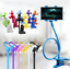 thumbnail 8 - US Flexible 360 Clip Mobile Cell Phone Holder Lazy Bed desk Bracket Mount Stand
