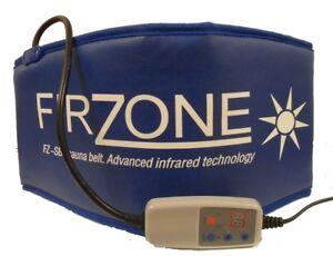 Firzone-Sauna-Belt-Minceur-tonifiante-infrarouge-lointain-Sweat-Ceintures-Portable-Wrap-Bleu