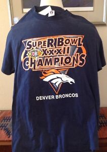 Image is loading DENVER-BRONCOS-1998-Super-Bowl-XXXII-Champions-T- db40ceee3