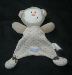 VITAMINS-BABY-WHITE-TEDDY-BEAR-PINK-SECURITY-BLANKET-STUFFED-ANIMAL-PLUSH-LOVEY