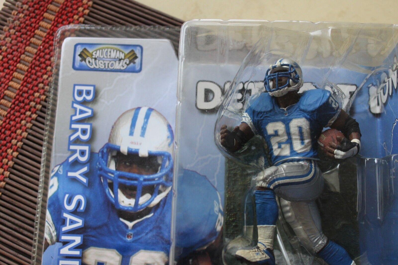 Barry Sanders, NFL, personalizado Mcfarlane & Paquete, Leones De Detroit