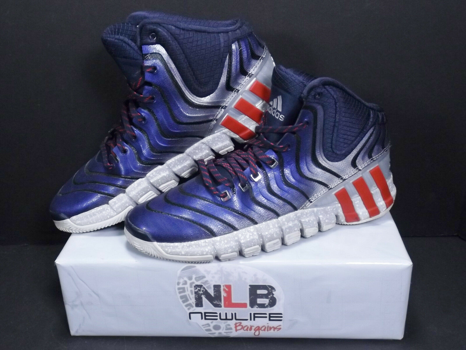 Adidas Adipure Crazyquick 2 Price reduction Navy/Red/White Men's Comfortable Cheap women's shoes women's shoes