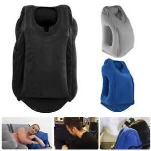 Travel-Neck-Pillow-Inflatable-for-Airplanes-Flight-Cervical-Support-Head-Rest