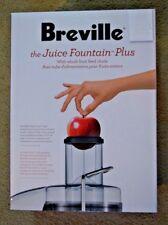 Breville RM JE98XL plus, Juice