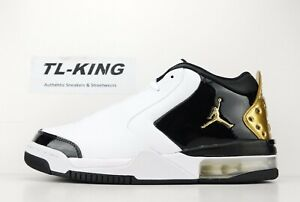 Nike-Air-Jordan-Big-Fund-PRM-White-Metallic-Gold-Black-CI2216-100-Msrp-125-ET