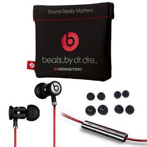 Noir-Argent-urBeats-by-Dr-Dre-ecouteurs-avec-micro-In-Ear-Casque-Beats