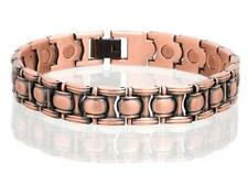 NEW COPPER MAGNETIC LINK BRACELET mens womens STYLE#LO  jewelry health Energy