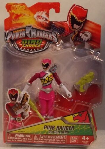 5 Pink Ranger Action Hero Bandai America Incorporated 42203 Power Rangers Dino Charge