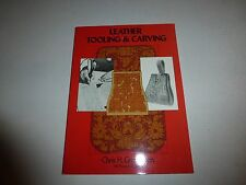Leather Tooling and Carving by Chris H. Groneman (1974, Paperback) B269