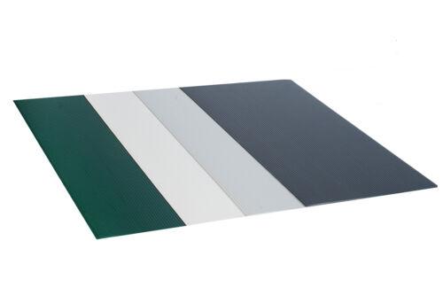 PVC Musterset Sichtschutzstreifen Stabmatte Windschutz Zaun Stärke max.1,55 mm