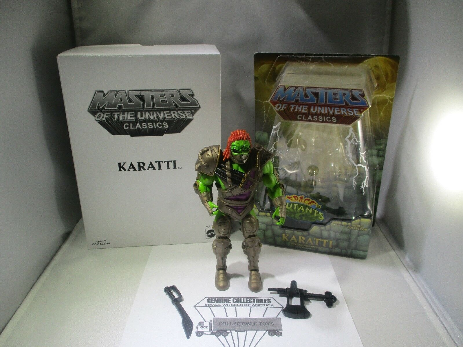 Vintage  Masters of the Universe Classics KARATTI with Accessories