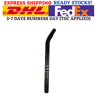 BMX HARO 25.4mm Bicycle SEAT POST Layback Alloy Old School Skyway BLACK NEW