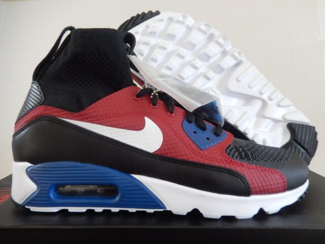 the best attitude 74c5b c18bf NIKE AIR MAX 90 ULTRA SUPERFLY BLACK-WHITE MARK PARKER HTM SZ 9.5  850613