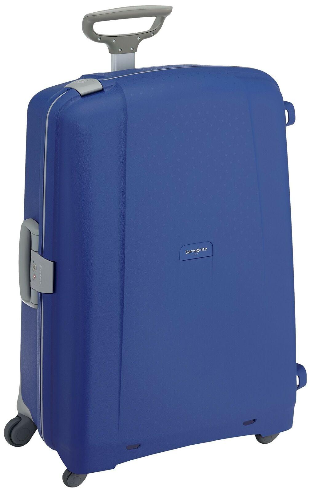 Samsonite Aeris - Spinner 75 - 4,80 Kg, Suitcase 75 cm, 87.5 L, Vivid bleu