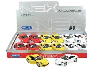 Porsche-911-Carrera-S-Modellauto-Auto-LIZENZPRODUKT-Massstab-1-34-1-39