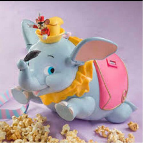 Tokyo Disney Limited Dumbo Timothy Popcorn Bucket Container Case Japan F//S