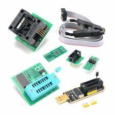 Usb Programmer Kit Flasher Spi Clip Burner Bios Flash 18v Adapter Home Diy 70g
