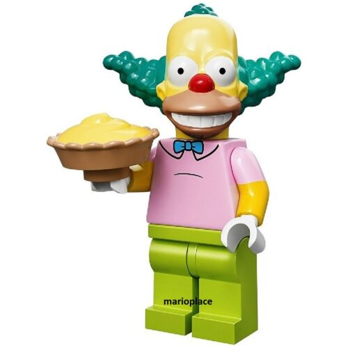 LEGO SIMPSONS 71005 ** Krusty the Clown  ** MINIFIGURE  MINIFIG #8 NEW