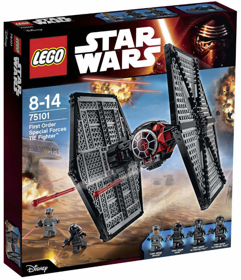 NEUF LEGO ® Star Wars ™ 75101-First Order forces spéciales Tie Fighter ™ NOUVEAU & NEUF dans sa boîte