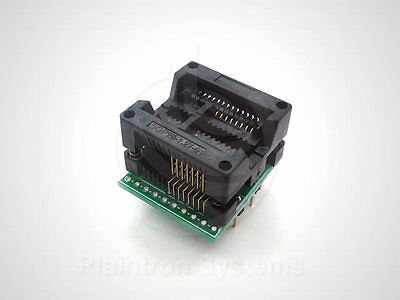 SMD-Adapter Programmer IC-Sockel SO16W SOIC W 1,27mm (300mil/7,5mm) DIP16