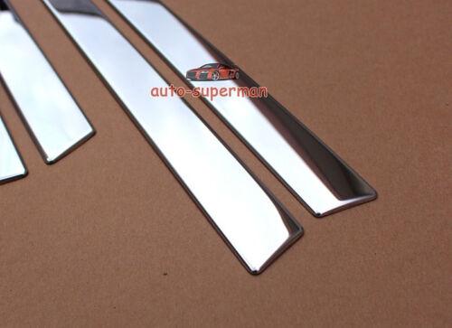 304 Steel Body door Side Molding Chrome trims For lexus CT200H 2011-2015