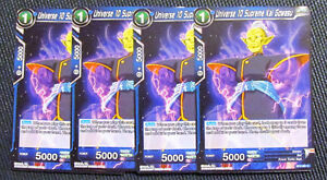 4x Universe 10 Supreme Kai Gowasu BT2-061 Common Dragon Ball Super TCG NM