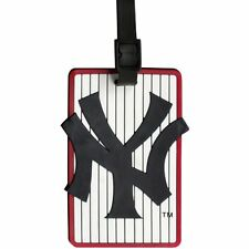 New York Yankees Bag Tag ID Tag Rubber Luggage Travel Tag MLB
