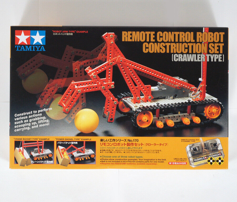 SET CONSTRUCTION ROBOT CONTROL REMOTE KIT TAMIYA ( 70170