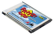 AVM FRITZ! 2.0 CARD PCMCIA ISDN MODEM INTERNET FAX OK!