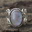 Rainbow-Moonstone-Ring-Solid-Silver-Plated-Handmade-Jewelry-Size-6-10 thumbnail 2