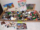 Large 15 LBS Lot Lego 20 Mini Figure Manuals 6761 6419 Animal Star Wars Race L4