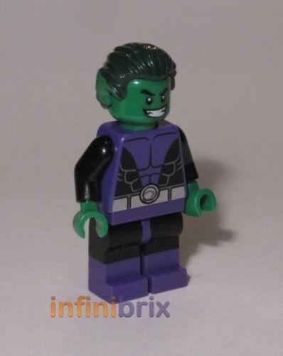 Lego Beast Boy Minifigure from Set 76035 Batman Super Heroes NEW sh198