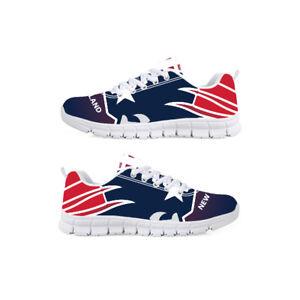 db28dab9858 New England Patriots Football custom fan made running athletic shoes ...
