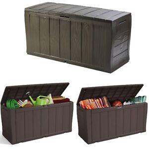 Garden Storage Box Patio Bench Seat