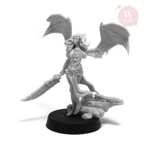 Chaos Daemon Dark Eldar Succubus Wyches Leader Lilith the Demoness by Artel W