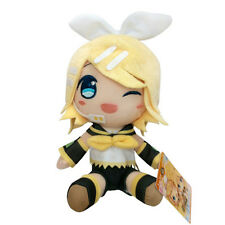"7.5"" Female Kagamine Rin Stuffed Plush - Taito Vocaloid Hatsune Miku Series Doll"